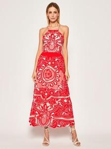 Sukienka Red Valentino w stylu boho maxi