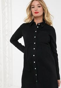Czarna sukienka Asos z jeansu