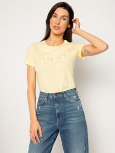T-shirt Guess z krótkim rękawem z okrągłym dekoltem