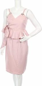 Różowa sukienka Lost Ink