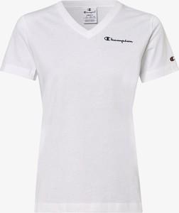 T-shirt Champion z krótkim rękawem z dekoltem w kształcie litery v w sportowym stylu