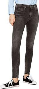 Jeansy Pepe Jeans z jeansu w młodzieżowym stylu