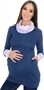 Niebieska bluza Mijaculture z bawełny