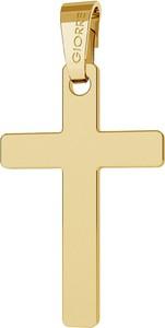 GIORRE ZŁOTA ZAWIESZKA KRZYŻ, AU 585 : Złoto - Próba 585 (14K)