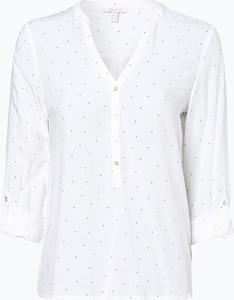 Bluzka Esprit w stylu casual z dekoltem w kształcie litery v z długim rękawem