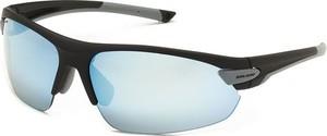 Okulary przeciwsłoneczne z wymiennymi szybami SP60017 Solano (czarny/szary)