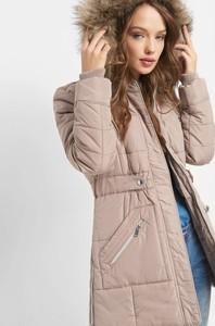 Brązowa kurtka ORSAY z tkaniny w stylu casual