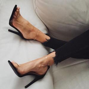 Brązowe sandały Sandbella