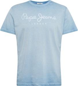 T-shirt Pepe Jeans z krótkim rękawem z dżerseju