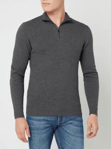 Sweter Esprit w stylu casual z kaszmiru ze stójką
