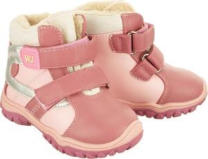 084b8fb3 Różowe buty dziecięce zimowe Wojtyłko, kolekcja lato 2019