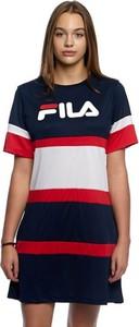 Sukienka Fila w stylu casual mini sportowa
