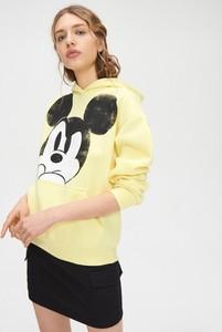 Żółta bluza Cropp krótka