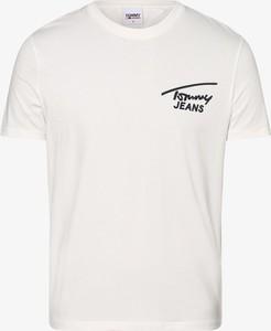 T-shirt Tommy Jeans z krótkim rękawem z dżerseju