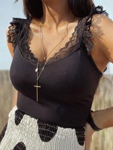 Czarna bluzka Versada