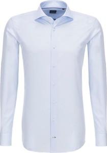 Koszula Joop! Collection z długim rękawem ze skóry