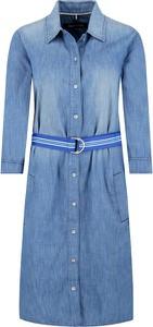 Sukienka Marc O'Polo w stylu casual z długim rękawem