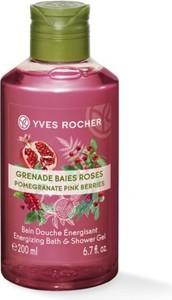 Yves Rocher Energizujący żel pod prysznic Owoc Granatu & Czerwony Pieprz