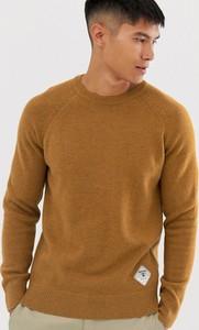 Pomarańczowy sweter Barbour Beacon