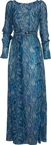 Niebieska sukienka Patrizia Pepe