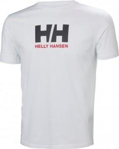 T-shirt Helly Hansen w młodzieżowym stylu z bawełny z krótkim rękawem