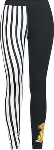Czarne legginsy Emp z bawełny