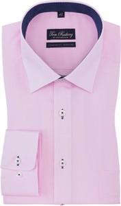 Różowa koszula Tom Rusborg