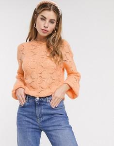 Różowy sweter Asos w stylu casual
