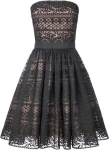 Czarna sukienka Manifiq&Co. bez rękawów