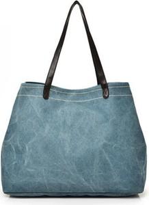 Niebieska torebka Sandbella na ramię