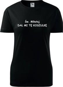 T-shirt TopKoszulki.pl z okrągłym dekoltem