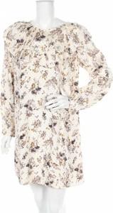 Sukienka Vilshenko z okrągłym dekoltem prosta