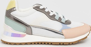 Buty sportowe Aldo sznurowane ze skóry ekologicznej na platformie
