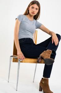 Niebieskie jeansy Big Star z jeansu w stylu casual