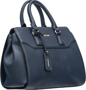 Niebieska torebka PUCCINI na ramię