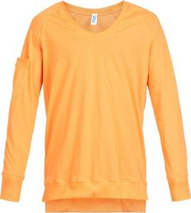 Pomarańczowy t-shirt Robert Kupisz
