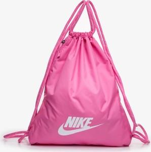 Różowy plecak męski Nike