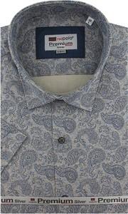 Koszula Redpolo z krótkim rękawem z tkaniny