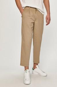 Brązowe spodnie Levis