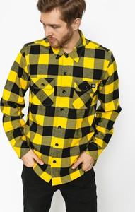 Żółta koszula Dickies z bawełny