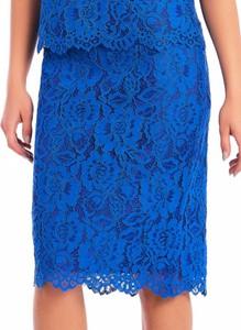 Niebieska spódnica POTIS & VERSO