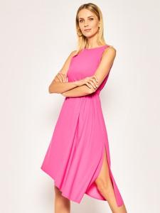 Sukienka Patrizia Pepe midi asymetryczna bez rękawów