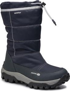 Niebieskie buty dziecięce zimowe Geox