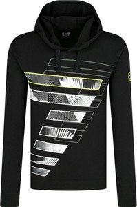 Bluza EA7 Emporio Armani z nadrukiem w młodzieżowym stylu