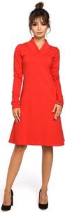 Sukienka Be z dekoltem w kształcie litery v midi