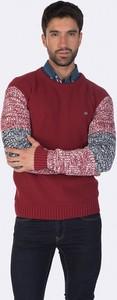 Czerwony sweter Felix Hardy ze stójką