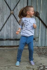 Bluzka dziecięca M-art-a-baby z bawełny z długim rękawem