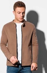 Brązowa bluza Ombre w stylu casual