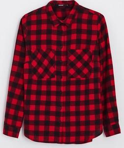 Czerwona koszula Cropp