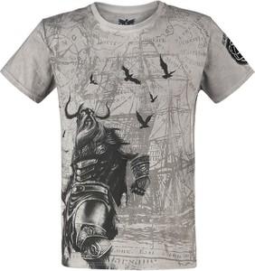 T-shirt Black Premium By Emp z krótkim rękawem